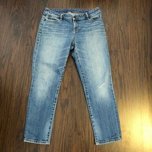 Talbots jeans cropped skinny ankle size 8
